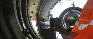On-Site Machining - Laser Tracker