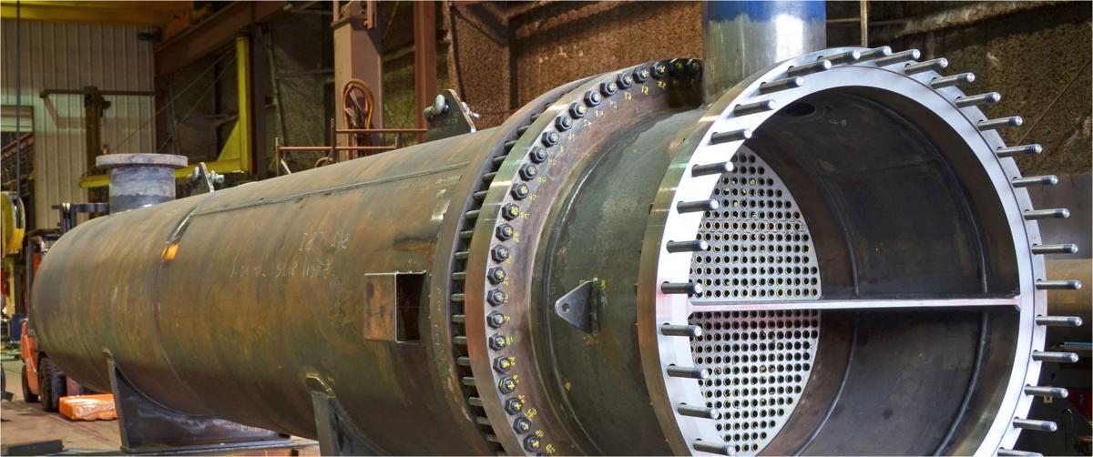 Lavorazioni meccaniche su scambiatori di calore
