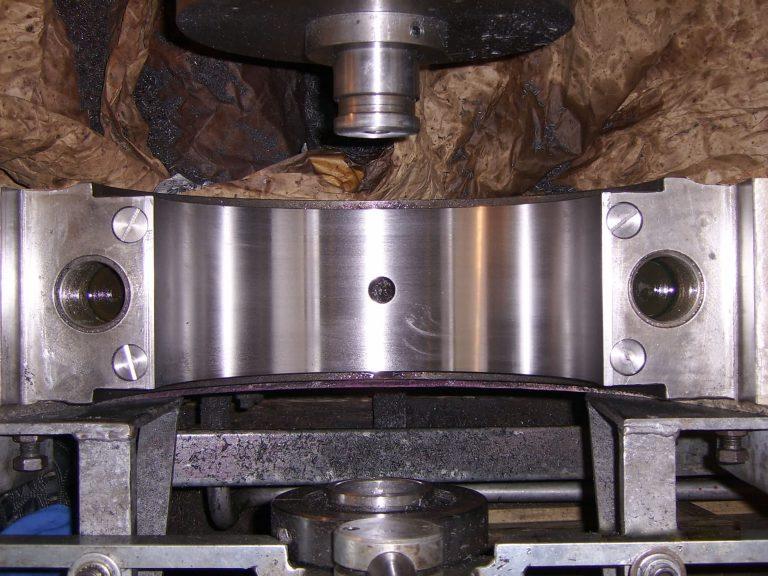 Cuscinetto meccanico ripristinato e funzionante