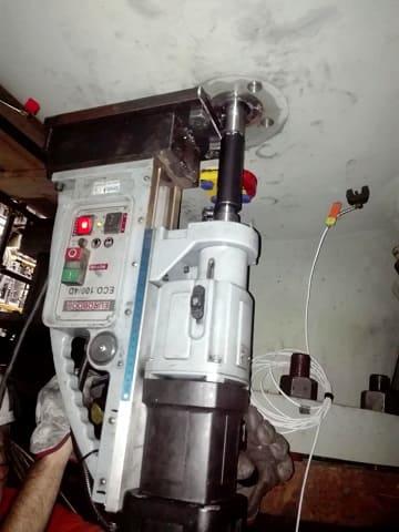 Alesatura Foro su Cassa Compressore
